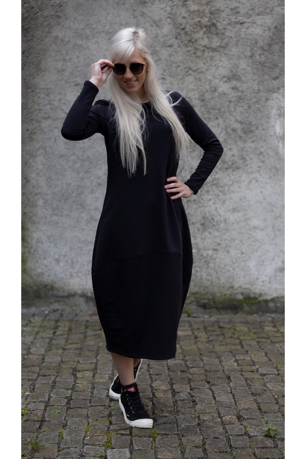 Maxi šaty Wendy černé 1