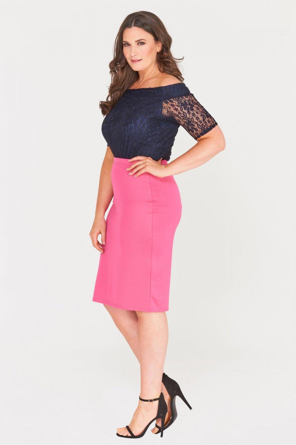 Klasická sukně Mac růžová - Bellazu.cz 35b35925c5