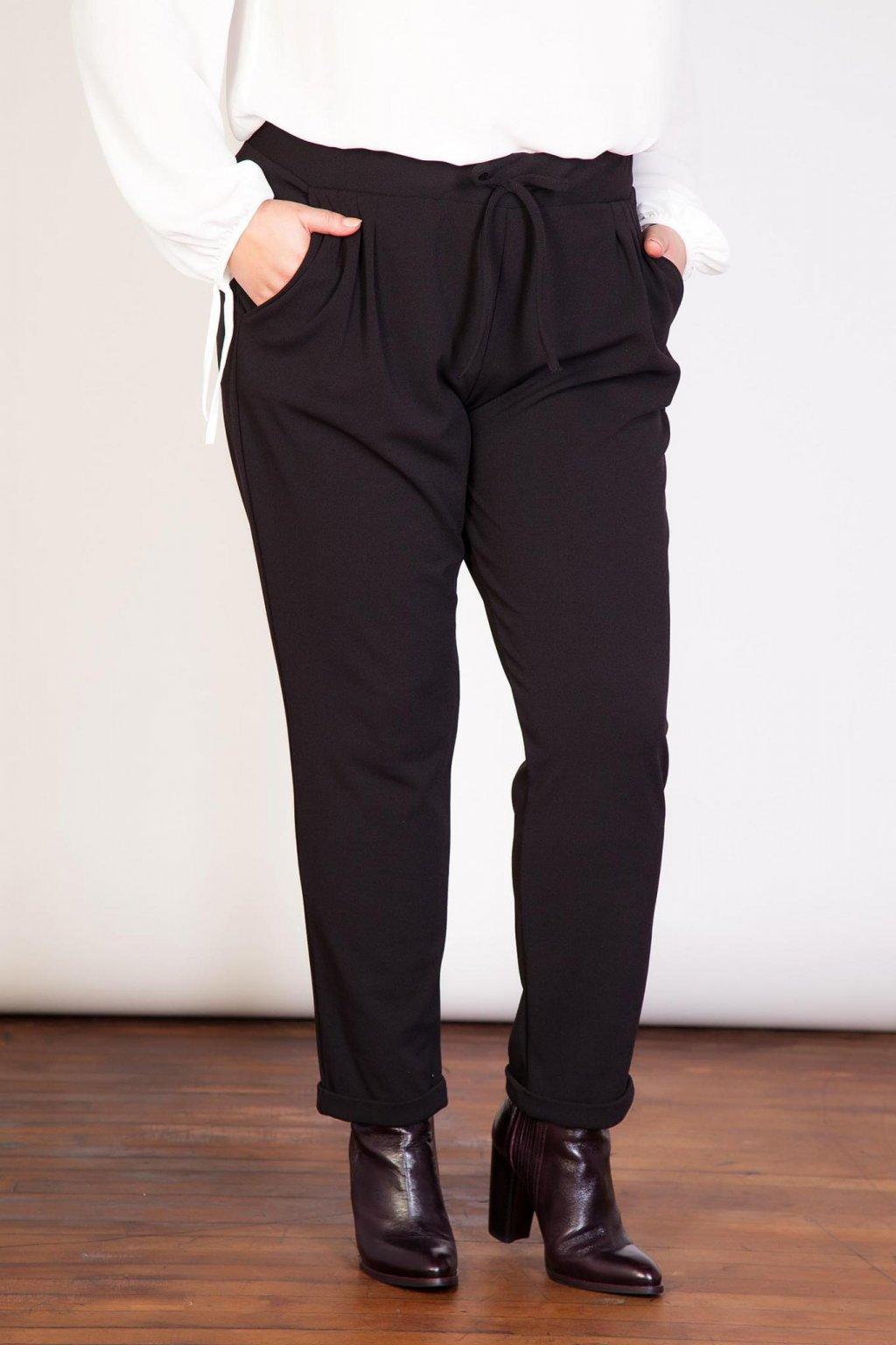 Dámské kalhoty Opaque černé 1