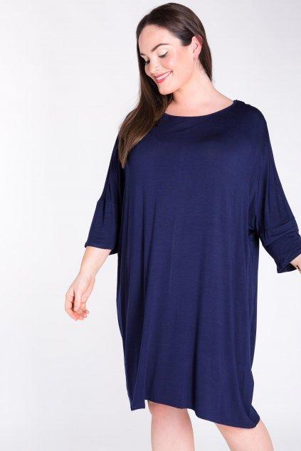 Volné šaty Soul Soul modré 3