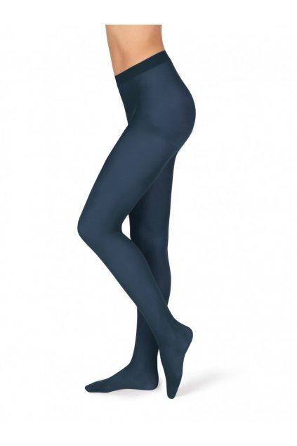 Neprůhledné dámské punčochové kalhoty Magda tmavě modré 1