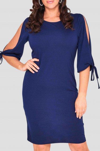 Dámské šaty Burford tmavě modré 3