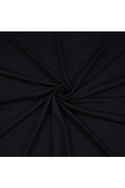 Jednoduché hladké šaty Keyhole černé 5