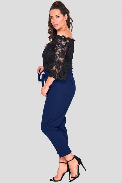 Dámské kalhoty Newark tmavě modré 2