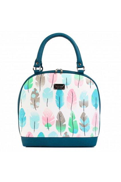 Krásná kabelka Bell Big Dara bags tyrkysová 1