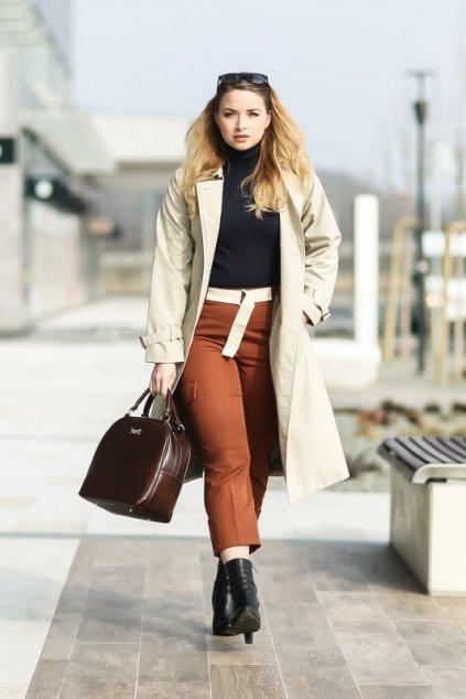 Krásná béžová kabelka Bonbon Dara bags 6