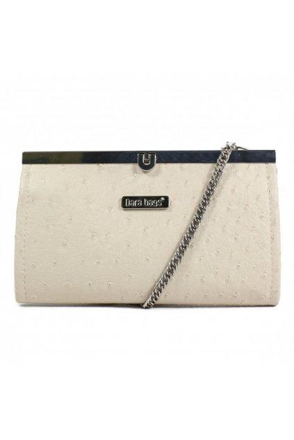 Malá kabelka Merci Dara bags krémová 1