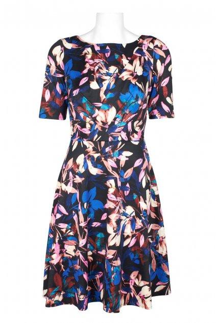 Letní květinové šaty Elza 1