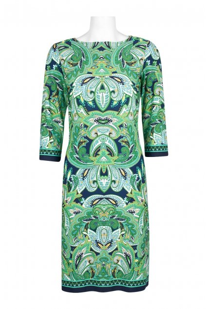 Krásné zelené letní šaty Emily Green 1