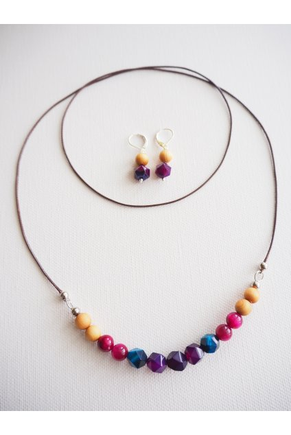Sada náušnice a náhrdelník Berry 1