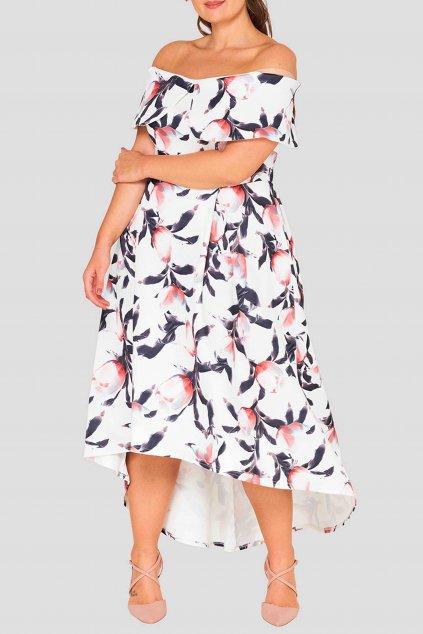 Romantické šaty Oxygen ivory 1