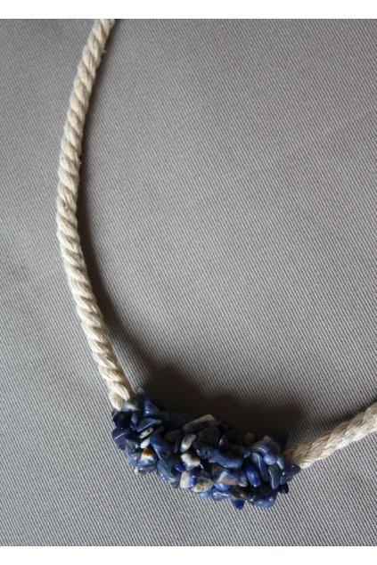 Náhrdelník Sodalit tmavě modrý 5