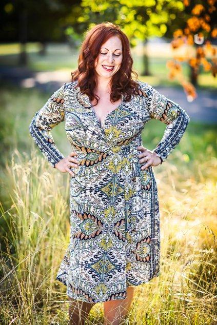 Zavinovací šaty Kirsty Bellazu 2