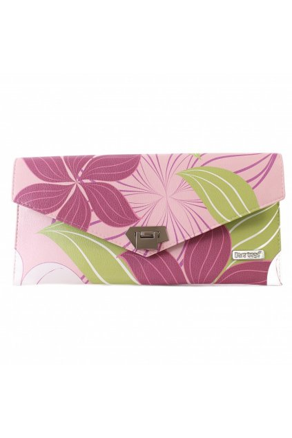 Květinová kabelka Malibu Classy růžová