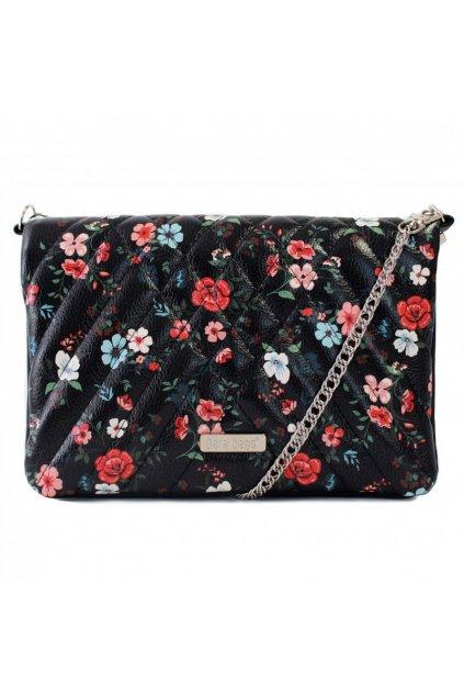 Květinová malá kabelka Cocktail Chic Dara bags černá 1
