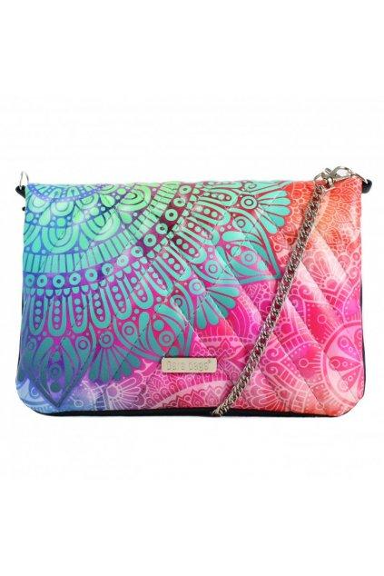 Pestrobarevná malá kabelka Cocktail Chic Dara bags růžová 1