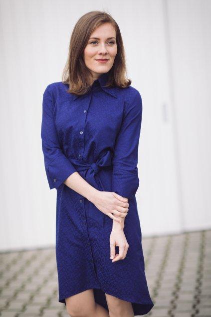 Košilové šaty Chamomilla tmavě modré 1