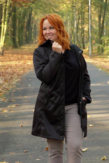 Dámský softshellový kabát černý 16