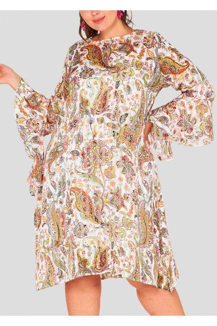 Dámské květinové šaty Harby