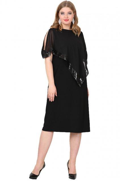 Krátké společenské šaty Loren černé 1