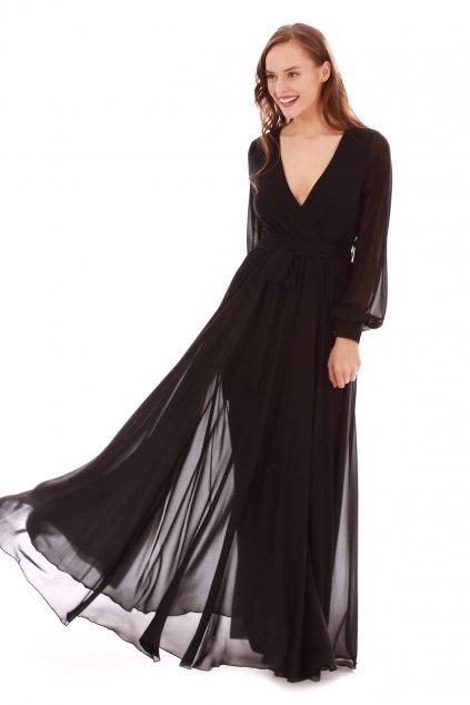Dlouhé společenské šaty Zoe