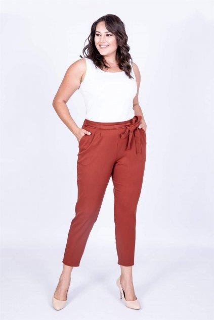 Dámské kalhoty Evelin s vázačkou 3