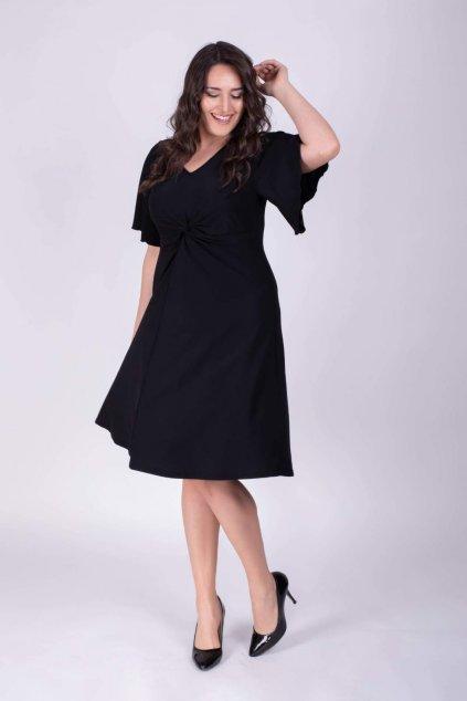 Dámské šaty Susan s netopýřími rukávy 2