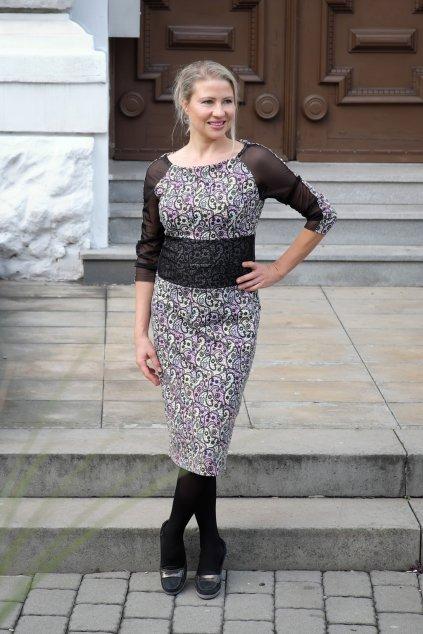 Dámské pouzdrové šaty Italy 1