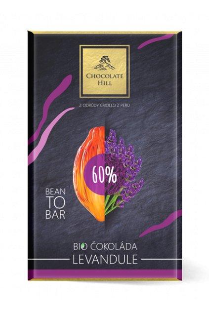 bio cokolada s levanduli