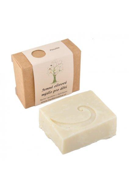 Jemne olivove mydlo pro deti 1