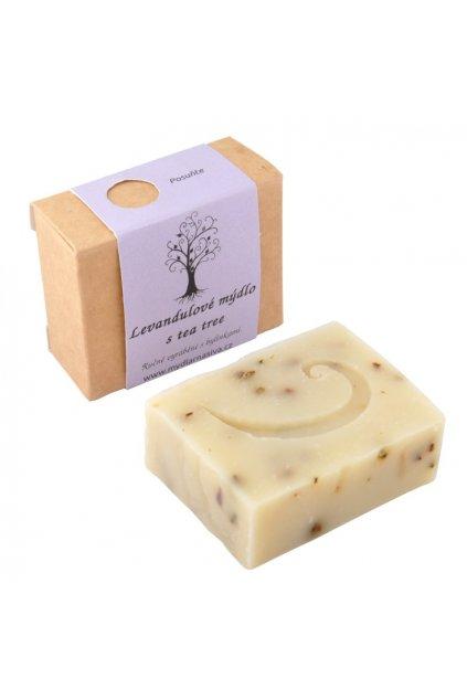 Levandulove mydlo s tea tree 1
