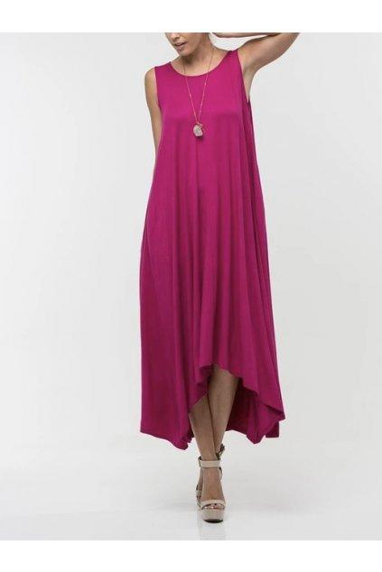 Asymetrické letní šaty Karoline v různých barvách