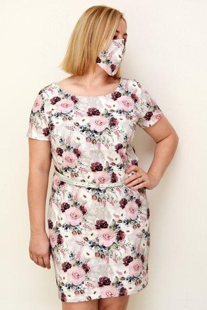 Květinové dámské šaty Julie 2