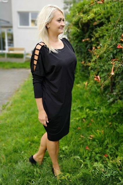 Šaty Cloudy černé 3