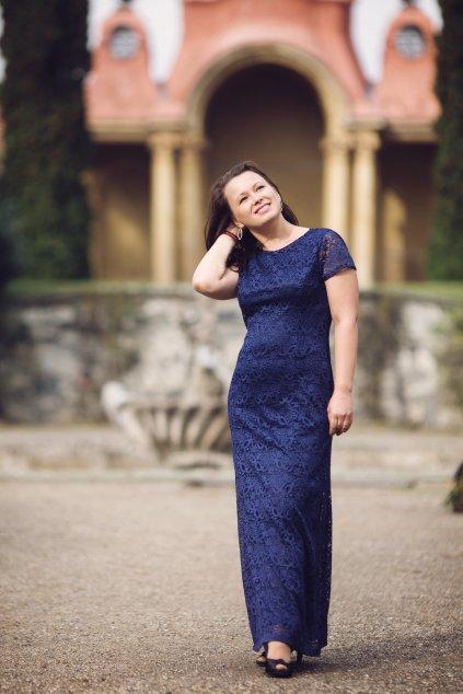 Dlouhé celokrajkové šaty Elisa