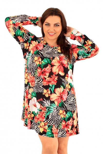 Šaty Kensington s květinovým vzorem 2