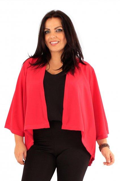 Sako Alicia s rozšířenými rukávy červené 1