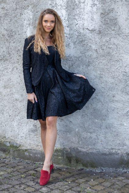 Kolová krajkové sukně Magdalena