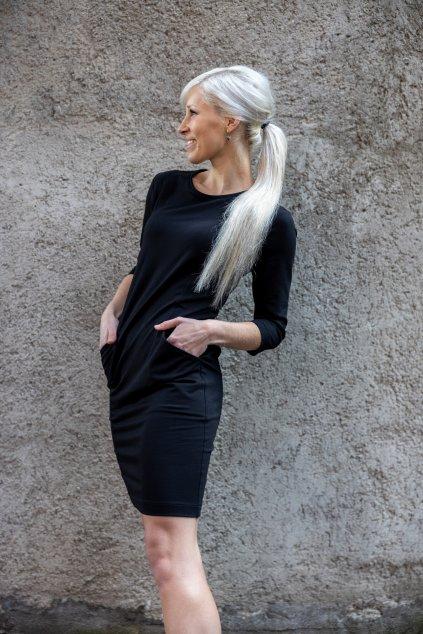 Šaty Short černé 3