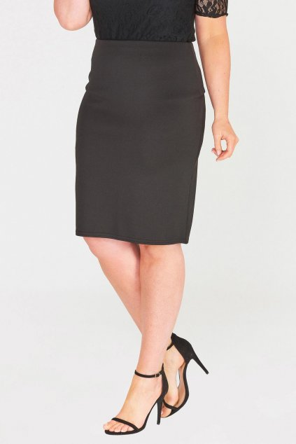Klasická černá sukně Mac 2