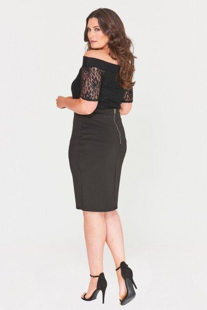 Klasická černá sukně Mac 5
