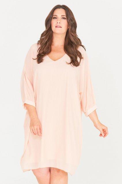 Romantické letní šaty Parker smetanové 1