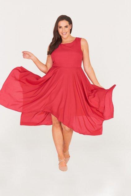 Šaty Zendana s asymetrickou sukní 1
