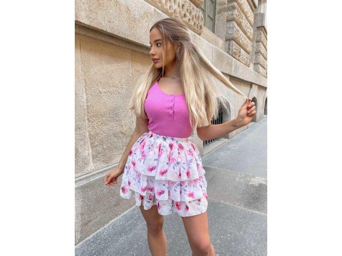 Květinová sukně