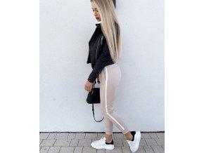 """Exkluzivní kolekce - teplákové kalhoty """"Blogger"""" - beige"""