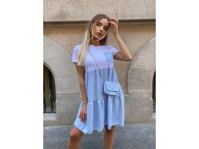"""Šaty  """"LILY"""" - světle modré"""