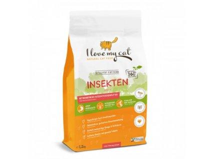 1,2kg Insekten - hmyzí granule pro kočky