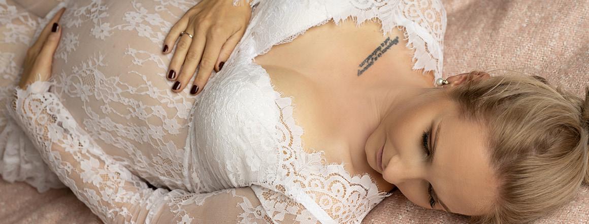 Těhotenské šaty na focení