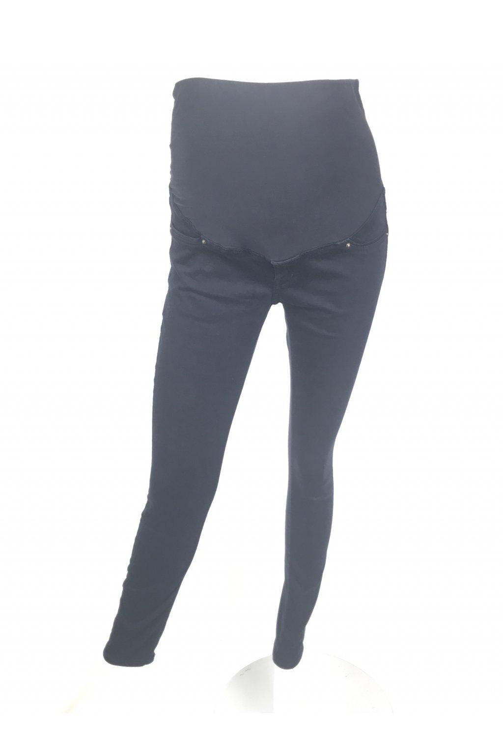 Těhotenské džíny H&M MAMA (Barva Černá, Velikost 34)