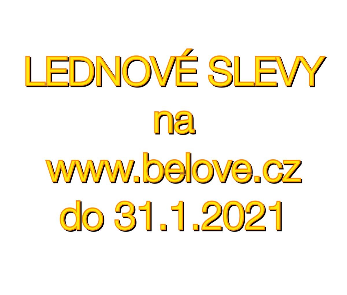 LEDNOVÉ SLEVY 2021